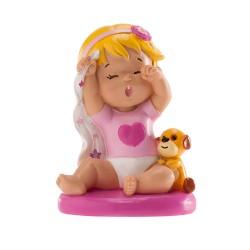 Figurine bébé fille