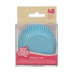 """Baking cups """"Light Blue"""" - pk/48"""