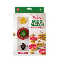 Christmas Mix and Match cookie cutters