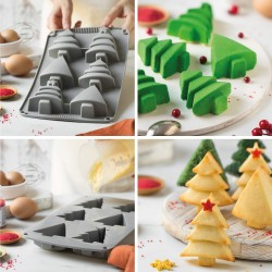 Christmas trees Silicone mould