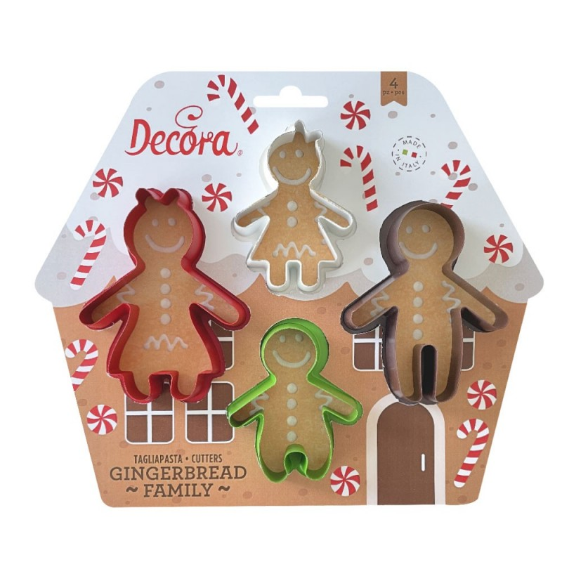 Cookie cutter set - Gingerbread family