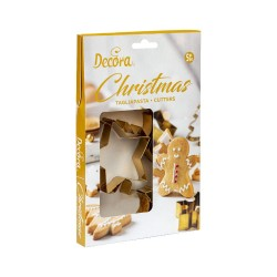 Emballage-Emporte-pièces biscuits de Noël