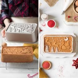 Illustration Santa Claus cake mould