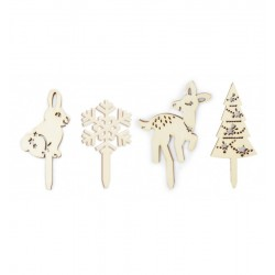 Wooden decos Enchanted Forest