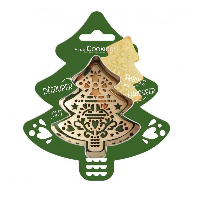 Cutter embosser Christmas tree