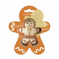 Cutter embosser Gingerbread man