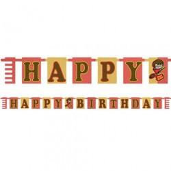 Guirlande Happy Birthday Harry Potter Pop up