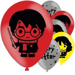 6 Ballons Harry Potter Pop up