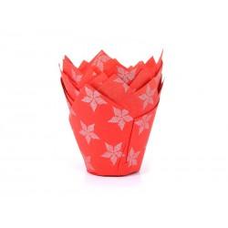 Tulip Baking cups Christmas star