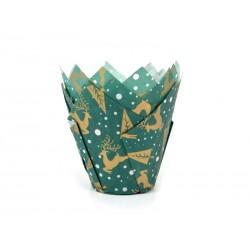 Tulip Baking cups Reindeer