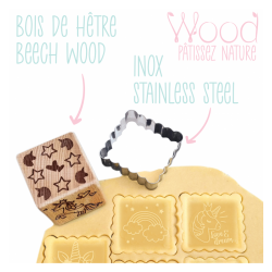 Stamp cookie cutter Unicorn
