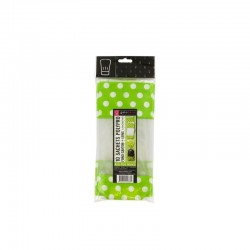 Cookies bags green with white dots