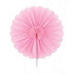 """Rosaces alvéolées en papier de soie """"Rose"""" – 15cm - 3pc"""