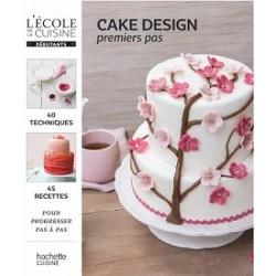 Livre - CAKE DESIGN... Premiers pas - FR - 221 pages