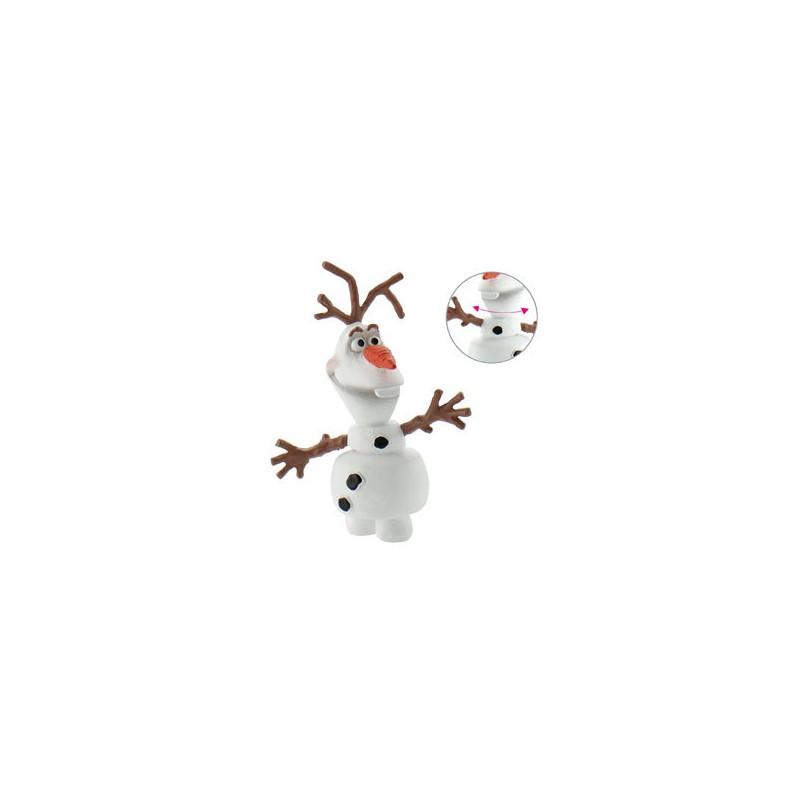 Figure décorative Reine des neiges - Olaf - 5,5 cm