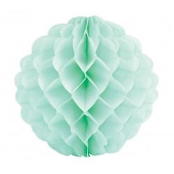 """Boule alvéolées en papier de soie """"Verte"""" – 25cm"""