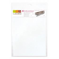 feuilles plastiques semi-rigides A4 / Papier guitare - 2pcs