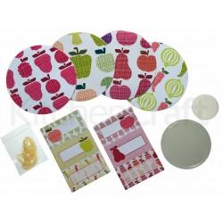 Home Made - Kit accessoires pour conserves - 24pcs