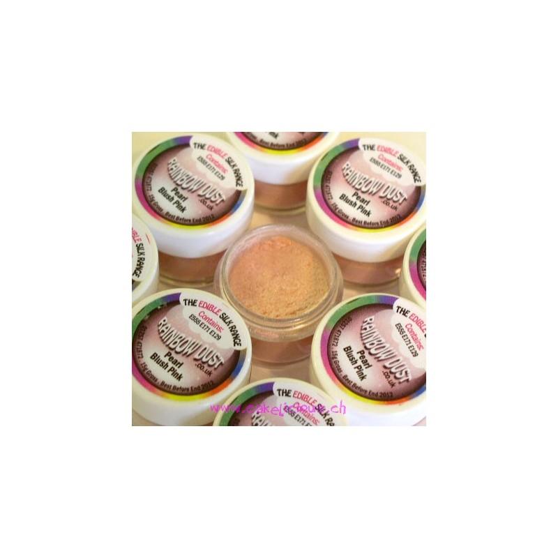 """Edible Silk - Poudre Colorante """"Pearl Blush Pink"""""""