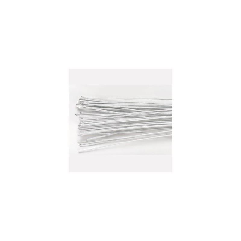 Tiges Florales Blanc Set/20 - calibre 22