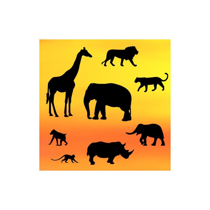 Safari Silhouette Set