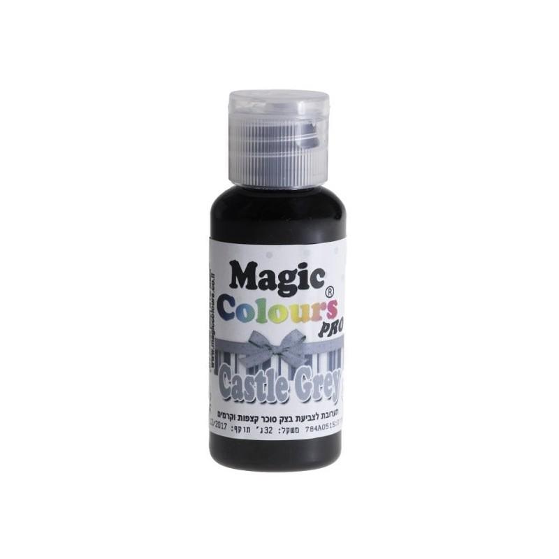 """Colorant gel """"Magic Castle"""" Gris - 32g"""