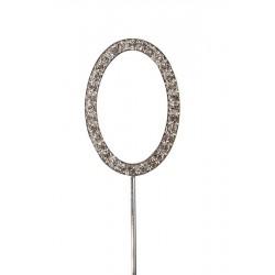 Lettre diamantée 'O' - 45mm