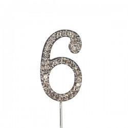 Chiffre diamanté '6' - 45mm