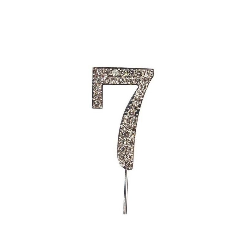 Chiffre diamanté '7' - 45mm