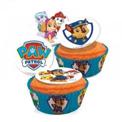 Mini-disques Pat patrouille en sucre pk/16