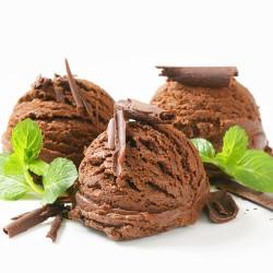 Mix pour Glace au Chocolat, Sans Gluten - 400g