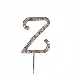 Lettre diamantée 'Z' - 45mm