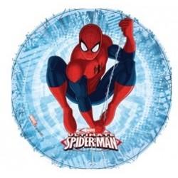 """Disque de décoration en sucre """"Spiderman 2"""" - 21cm"""