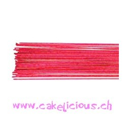 """Fils métalliques"" Metallic Bright Pink Set/50 - jauge 24"