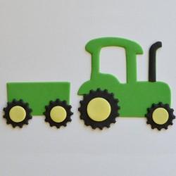 """set emportes-pièces """"Tracteur"""" - 6,5x8cm"""