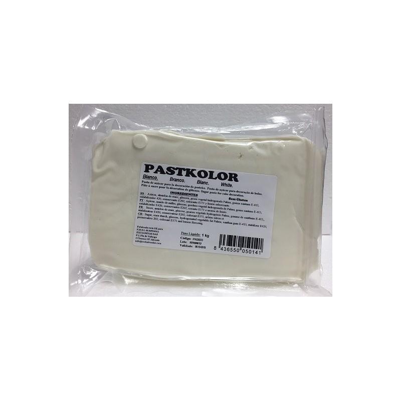 """Pâte à sucre """"Blanc"""" - 250 gr"""
