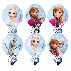 """Disney - Décorations Comestibles """"La Reine des Neiges"""" - 24pcs"""