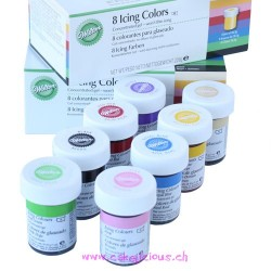 Gels Colorants Kit/8
