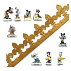 Fève Mickey - Epiphanie - Fête des Rois - 5pcs