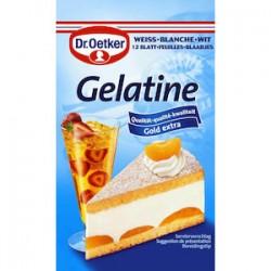 Dr.Oetker - Gelatine - 12 feuilles