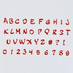 Alphabet & Numéro - Tappits Art Deco Magique