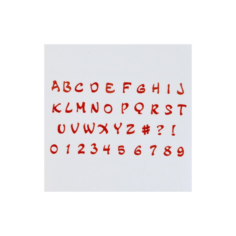Alphabet Numbers Tappits Art Deco Magical Chf790