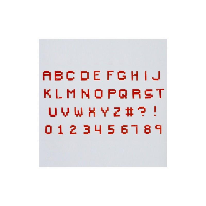 Alphabet U0026 Numéro   Tappits Art Deco   MineCraft