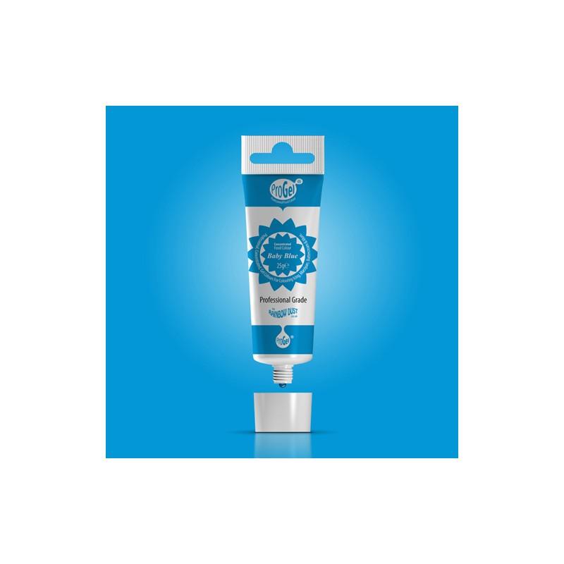 """Colorant gel """"Baby Blue"""" bleu bébé - 25gr"""
