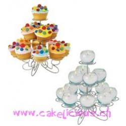 """Présentoir """"Cupcake 'N More"""" Petit 13ct"""