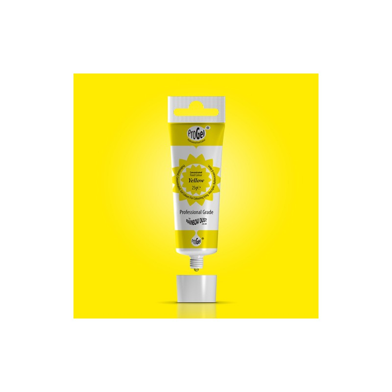 "Colorant gel ""Yellow"" Jaune - 25 gr"