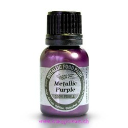 """Peinture Métallisée """"Purple"""" Violet - 25 ml"""
