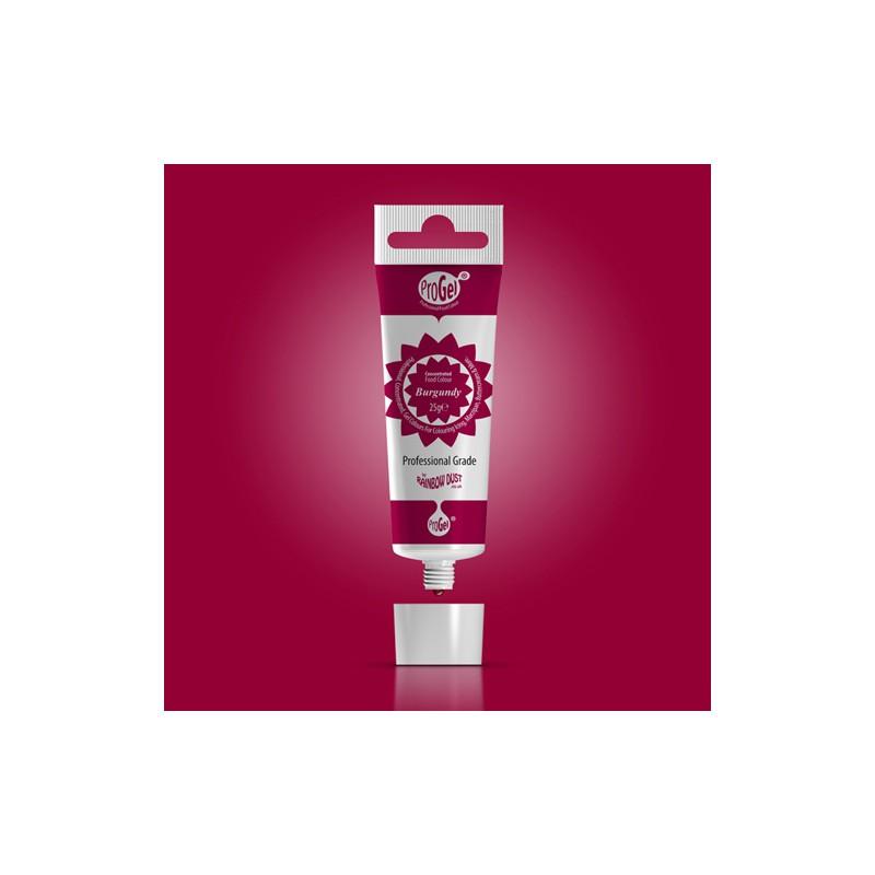 """Colorant gel """"Burgundy"""" Bordeaux - 25gr"""
