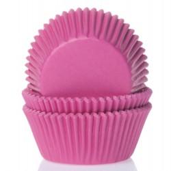 "Caissettes à mini cupcakes ""Fuchsia"" - pk/60"