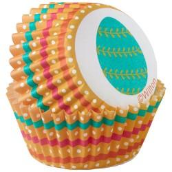 """Caissettes à mini cupcakes """"Eggclectic"""" pk/100"""